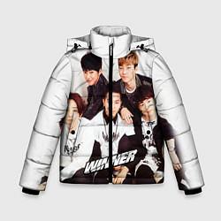 Куртка зимняя для мальчика Winner Boys цвета 3D-черный — фото 1
