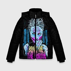 Детская зимняя куртка для мальчика с принтом BMTH: Acid Girl, цвет: 3D-черный, артикул: 10073642606063 — фото 1
