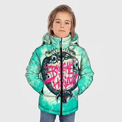 Детская зимняя куртка для мальчика с принтом BMTH: Sempiternal, цвет: 3D-черный, артикул: 10073643506063 — фото 2