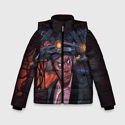 Куртка зимняя для мальчика Emmett Lathrop Brown цвета 3D-черный — фото 1