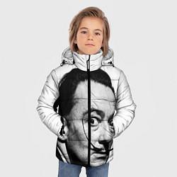 Куртка зимняя для мальчика Сальвадор Дали - фото 2