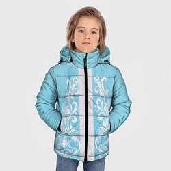 Куртка зимняя для мальчика Снегурочка цвета 3D-черный — фото 2