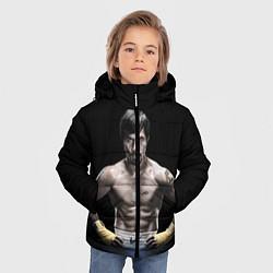 Куртка зимняя для мальчика Мэнни Пакьяо - фото 2
