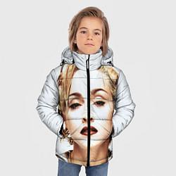 Куртка зимняя для мальчика Мадонна цвета 3D-черный — фото 2