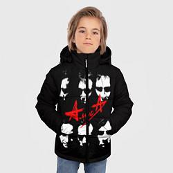 Куртка зимняя для мальчика Группа АлисА цвета 3D-черный — фото 2