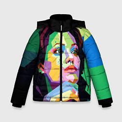 Куртка зимняя для мальчика Angelina Jolie: Art цвета 3D-черный — фото 1
