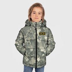 Куртка зимняя для мальчика A II + цвета 3D-черный — фото 2