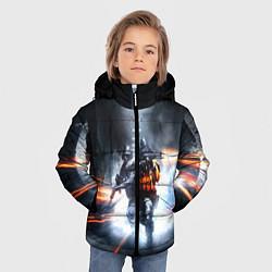 Куртка зимняя для мальчика Battlefield Hardline цвета 3D-черный — фото 2