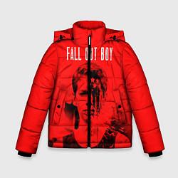 Куртка зимняя для мальчика FOB: Red USA цвета 3D-черный — фото 1