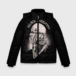 Куртка зимняя для мальчика Black Sabbath: Acid Cosmic цвета 3D-черный — фото 1