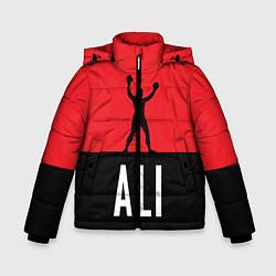 Куртка зимняя для мальчика Ali Boxing - фото 1