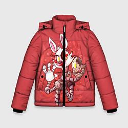 Куртка зимняя для мальчика Death Mangle цвета 3D-черный — фото 1