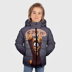 Детская зимняя куртка для мальчика с принтом Five Nights: I Did It, цвет: 3D-черный, артикул: 10093561106063 — фото 2