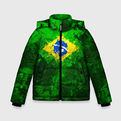 Куртка зимняя для мальчика Бразилия цвета 3D-черный — фото 1