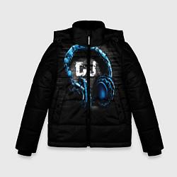 Детская зимняя куртка для мальчика с принтом DJ, цвет: 3D-черный, артикул: 10095740606063 — фото 1