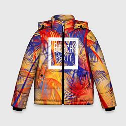 Куртка зимняя для мальчика Beach Party цвета 3D-черный — фото 1