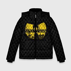 Куртка зимняя для мальчика Wu-Tang Clan: Grid цвета 3D-черный — фото 1