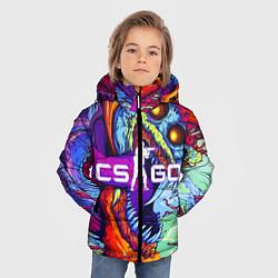 Куртка зимняя для мальчика CS:GO цвета 3D-черный — фото 2