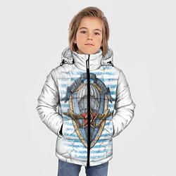 Детская зимняя куртка для мальчика с принтом ВДВ, цвет: 3D-черный, артикул: 10099218506063 — фото 2