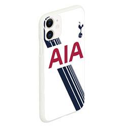 Чехол iPhone 11 матовый Tottenham Hotspur: AIA цвета 3D-белый — фото 2
