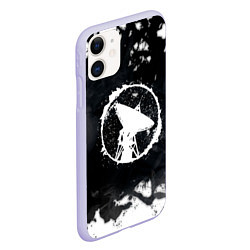 Чехол iPhone 11 матовый ГРОТ цвета 3D-светло-сиреневый — фото 2