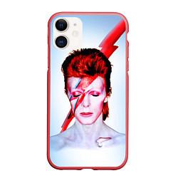 Чехол iPhone 11 матовый Aladdin sane цвета 3D-красный — фото 1