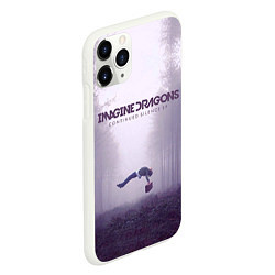 Чехол iPhone 11 Pro матовый Imagine Dragons: Silence цвета 3D-белый — фото 2