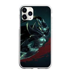 Чехол iPhone 11 Pro матовый Phantom Assassin цвета 3D-белый — фото 1