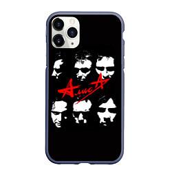 Чехол iPhone 11 Pro матовый Группа АлисА