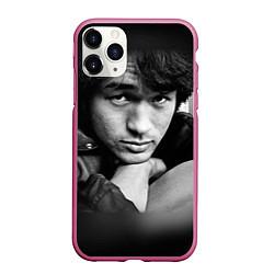 Чехол iPhone 11 Pro матовый Виктор Цой