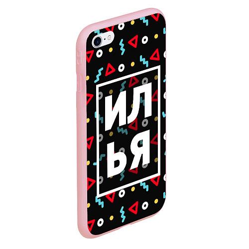 Чехол iPhone 6/6S Plus матовый Илья / 3D-Баблгам – фото 2