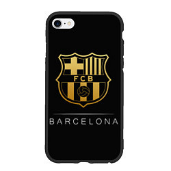 Чехол iPhone 6/6S Plus матовый Barcelona Gold Edition цвета 3D-черный — фото 1