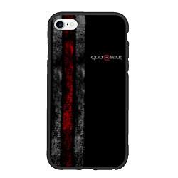 Чехол iPhone 6/6S Plus матовый God of War: Black Style цвета 3D-черный — фото 1