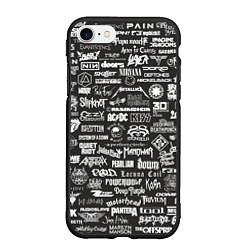 Чехол iPhone 7/8 матовый Rock Star цвета 3D-черный — фото 1