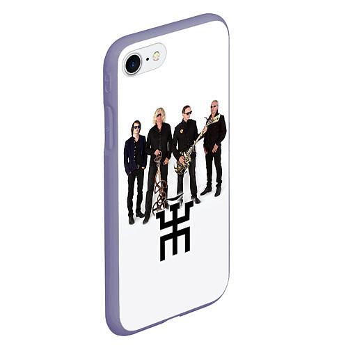 Чехол iPhone 7/8 матовый Группа Пикник / 3D-Серый – фото 2