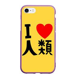 Чехол iPhone 7/8 матовый No game no life Sora
