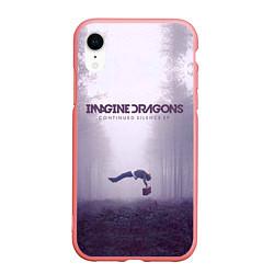Чехол iPhone XR матовый Imagine Dragons: Silence цвета 3D-баблгам — фото 1