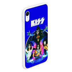 Чехол iPhone XR матовый Kiss Show цвета 3D-белый — фото 2