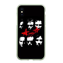 Чехол iPhone XS Max матовый Группа АлисА