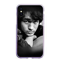 Чехол iPhone XS Max матовый Виктор Цой