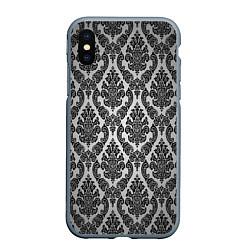 Чехол iPhone XS Max матовый Гламурный узор