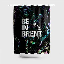 Шторка для душа Be in brent цвета 3D-принт — фото 1