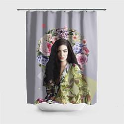 Шторка для душа Lorde Floral цвета 3D — фото 1