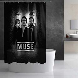 Шторка для душа Muse цвета 3D — фото 2