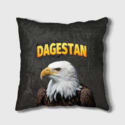 Подушка квадратная Dagestan Eagle цвета 3D — фото 1