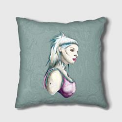 Подушка квадратная Yolandi Death цвета 3D — фото 1