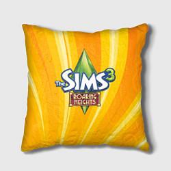Подушка квадратная The Sims: Roaring Heights цвета 3D-принт — фото 1