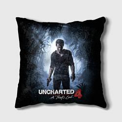 Подушка квадратная Uncharted 4: A Thief's End цвета 3D — фото 1