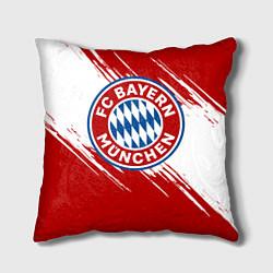 Подушка квадратная ФК Бавария цвета 3D-принт — фото 1