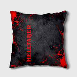 Подушка квадратная Helltaker Logo Z цвета 3D-принт — фото 1